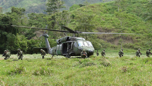 colombia helicopter army ejercito