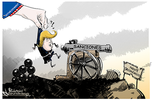 trump sanciones establishment
