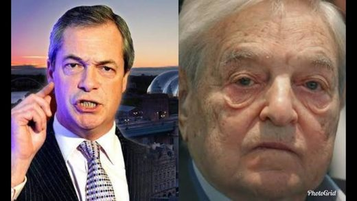 Nigel Farage Soros