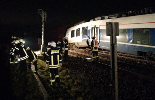 accidente trenes alemania