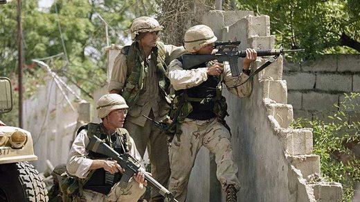 Soldados estadounidenses Mogadiscio