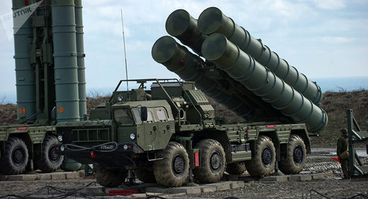 Russia S-400 air defense system