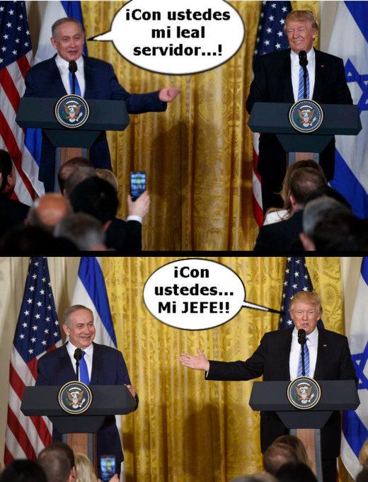 trump bibi relation