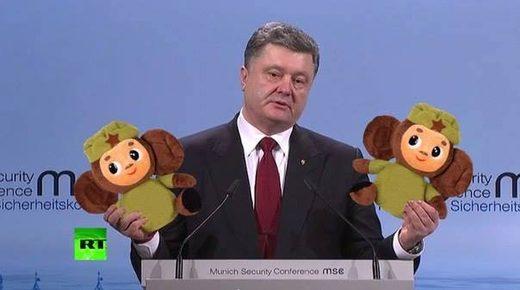 poroshengo monos rusos