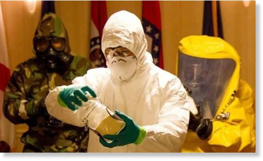 Biowarfare scientists