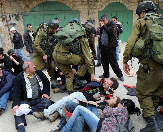 soldados israel palestina