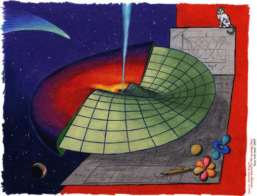 propagación ondas disco astrofísico Schrödinger