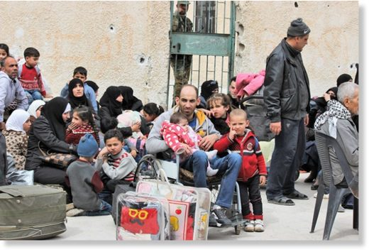 syrian families