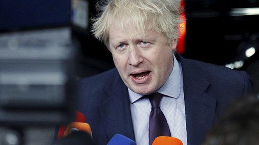 El ministro de Exteriores de Reino Unido, Boris Johnson
