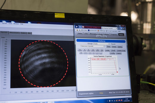 Brice, Maximilien, Alpha Experiment. CERN.