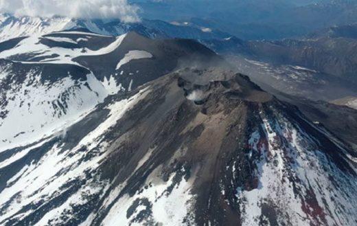 La medida la tomó el Servicio Nacional de Geología y Minería luego del incremento de la actividad sísmica en el macizo.