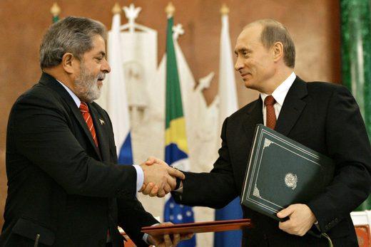 Lula Putin