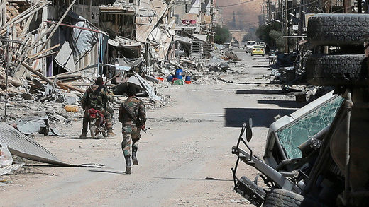 soldados sirios Homs