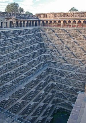 Deepest Step Well in the World, Rajasthan, India