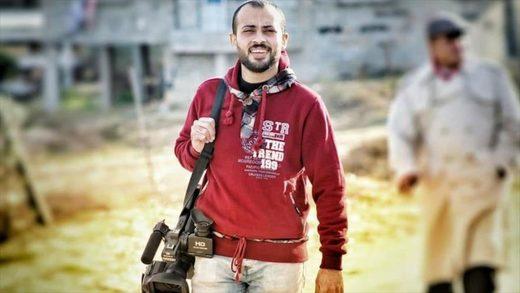 periodista  palestino
