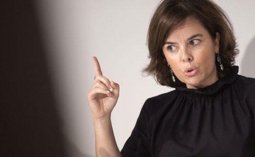 La vicepresidenta del gobierno de Mariano Rajoy, Soraya Saénz de Santamaría.