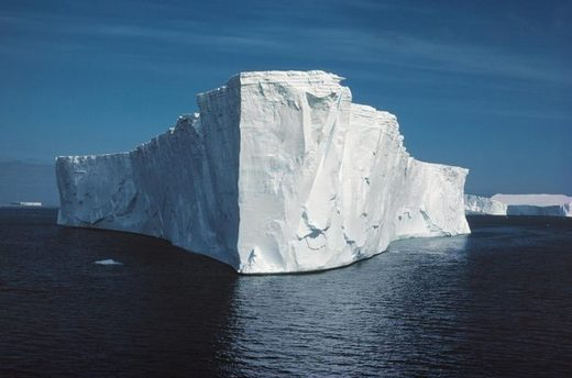 icebergs towed Antarctica to South Africa