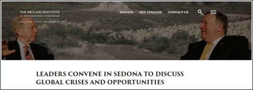 McCain Institute Sedona Forum