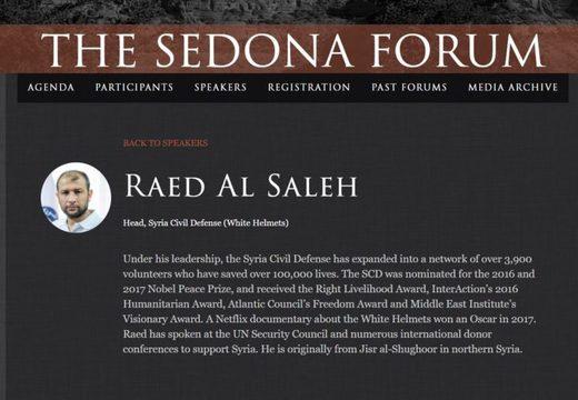 Raed Al Saleh Sedona Forum McCain
