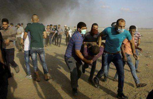 protestas Gaza