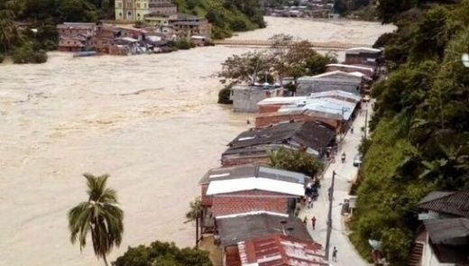 Floods Force 600 Colombians to Evacuate in Antioquia