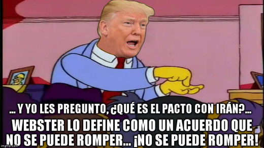 trump agreement unbreakable