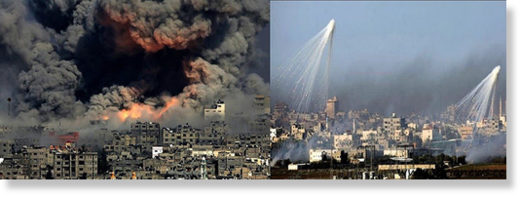 Israel white phosphorus