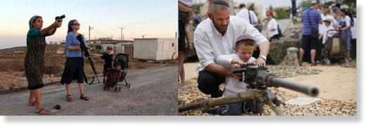 Israeli colonizers