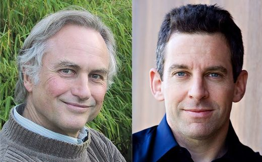 Sam Harris y Richard Dawkins