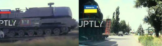 BUK-TELAR Russia Ukraine MH-17