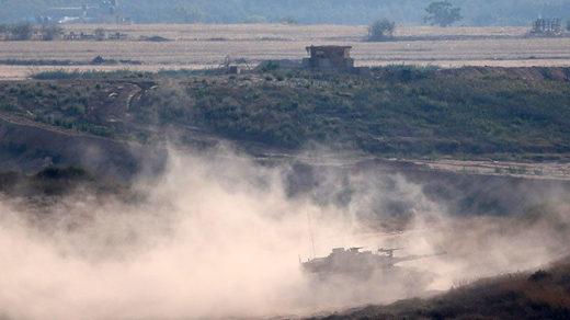 gaza israel tank