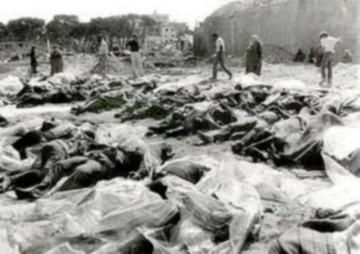 nakba lydda palestinians executed