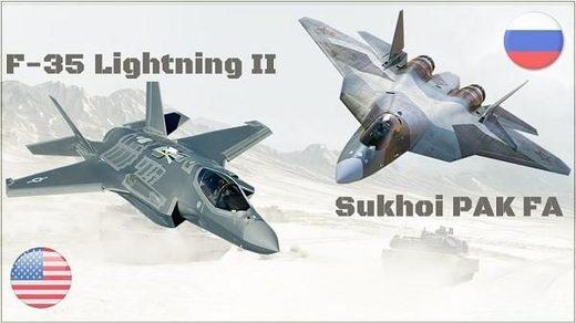 f-35 vs su-57