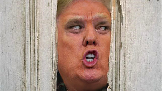 trump the shining