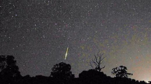 Fireball over Queensland