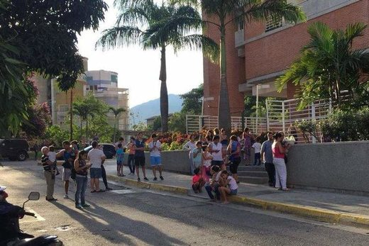 earthquake hit the Northern Venezuela coast