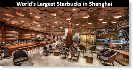 Shanghai starbucks