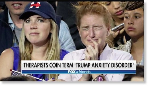 Trump anxiety disorder