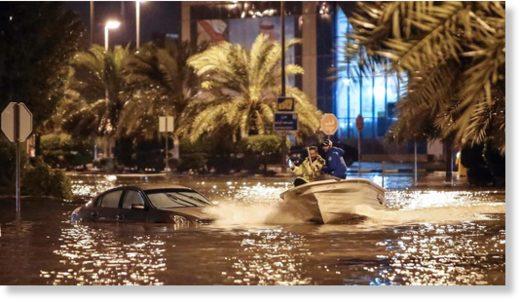 kuwait flood