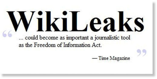 Wikileaks freedom of press