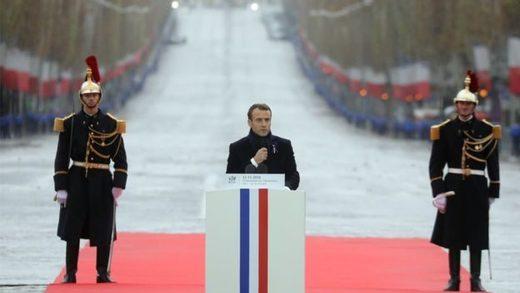 Macron, día armisticio