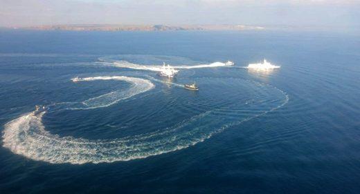 buques ucranianos Kerch
