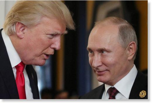 Trump Putin evil plot