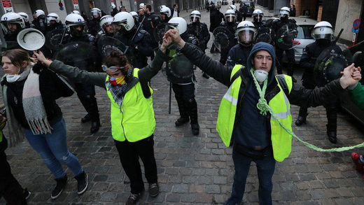 brussels yellow vests