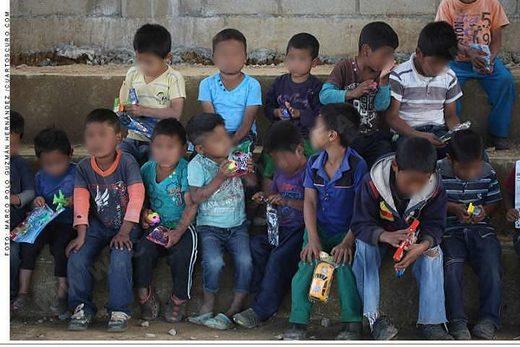 niños children