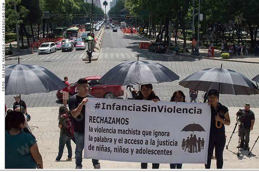 protesta niños México