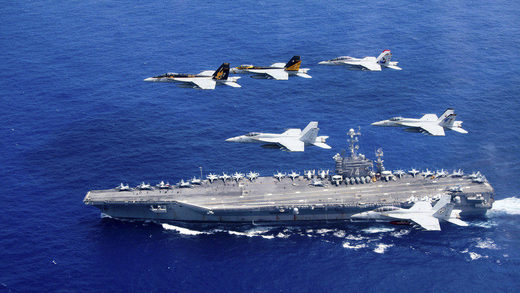 aircraft carrier portaaviones