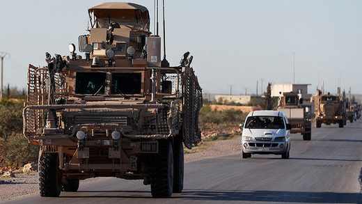 us military convoy syria