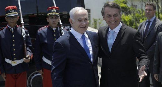 sionazis de Bolsonaro y Netanyahu,
