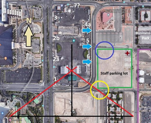 route 91 shooting map